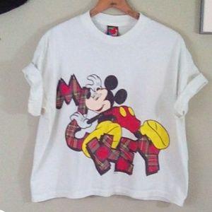 Vintage 80s M8ckey Mouse Disney tshirt